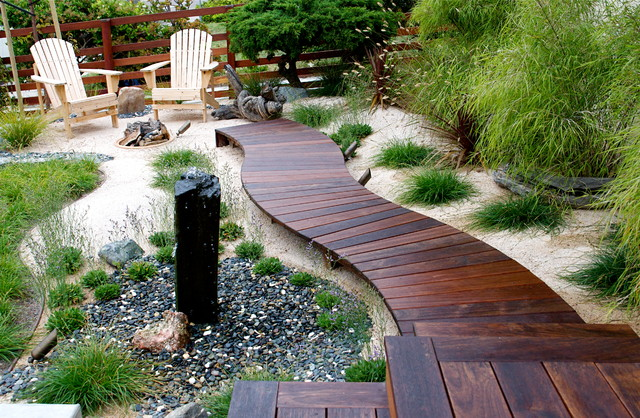 Extend decking into your path