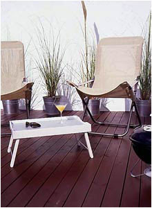 Stylish Decked Patio